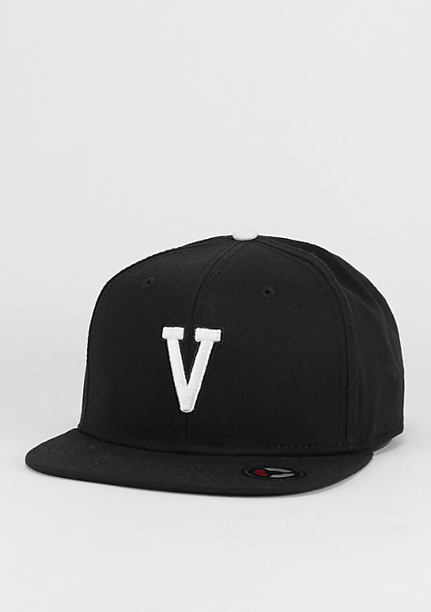 Masterdis Snapback-Cap Letter V black