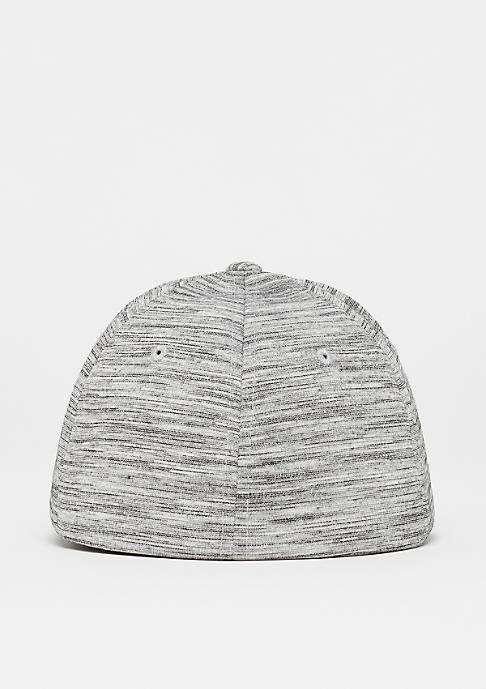 Flexfit Baseball-Cap Stripes Melange black/grey