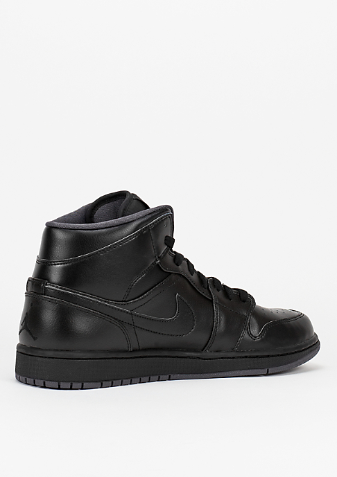 JORDAN Air Jordan 1 Mid black/black/dark grey