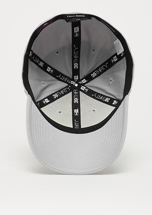 New Era Baseball-Cap 39Thirty League Basic MLB New York Yankees grey/white