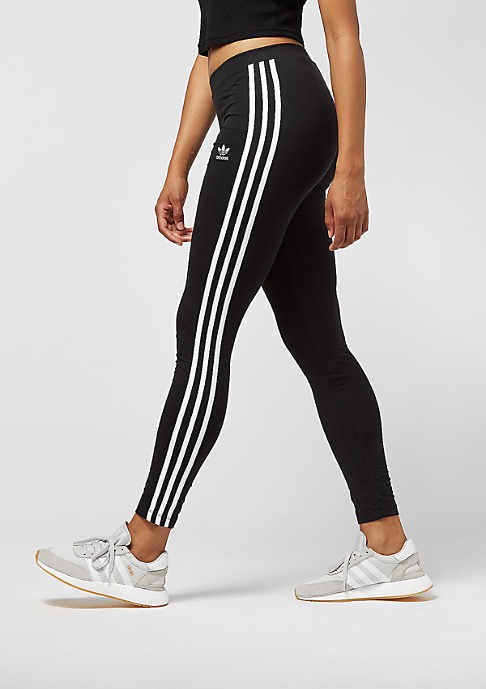 adidas Leggings 3 Stripes black