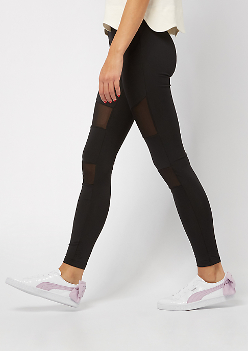 Urban Classics Leggings Tech Mesh black