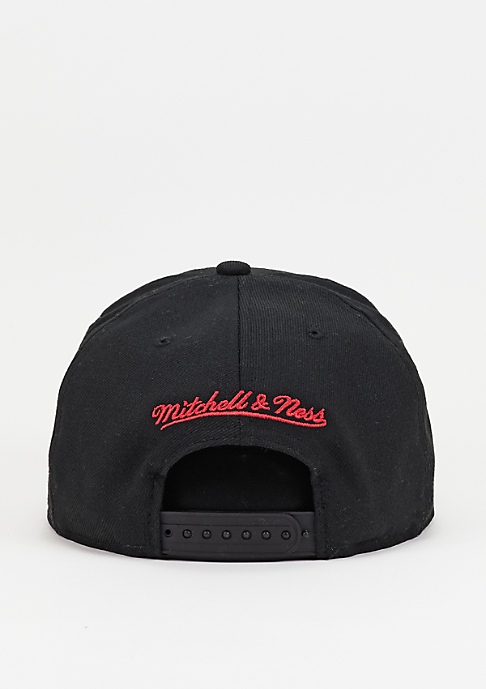 Mitchell & Ness Snapback-Cap Wool Solid NBA Chicago Bulls black