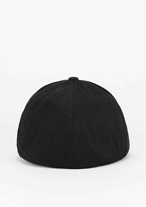 Urban Classics Baseball-Cap Leatherpatch black/black