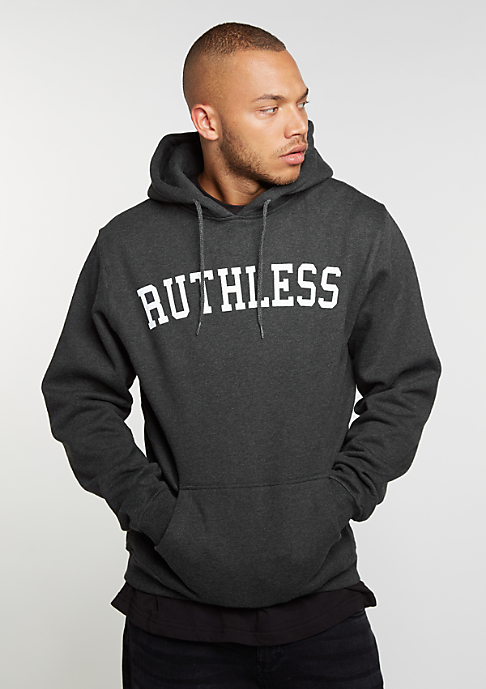 Mister Tee Hooded-Sweatshirt Ruthless charcoal