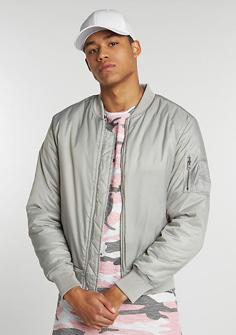 Urban Classics Jacke Basic Bomber light grey