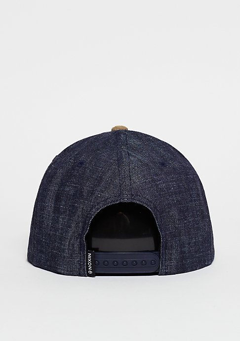 Nixon Snapback-Cap Exchange black denim