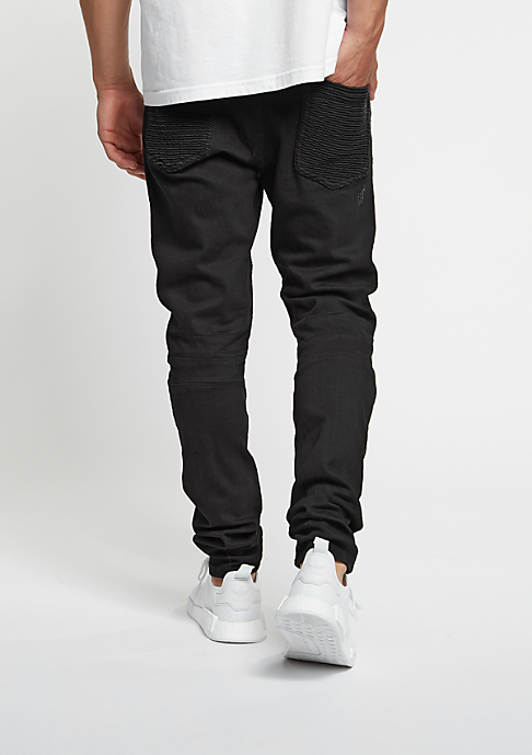 Cayler & Sons Biker Denim Pants black