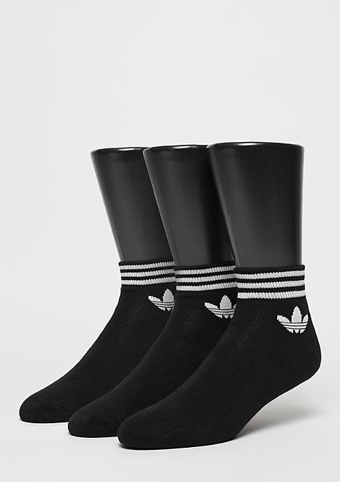 adidas Sportsocke Trefoil ANK STR black