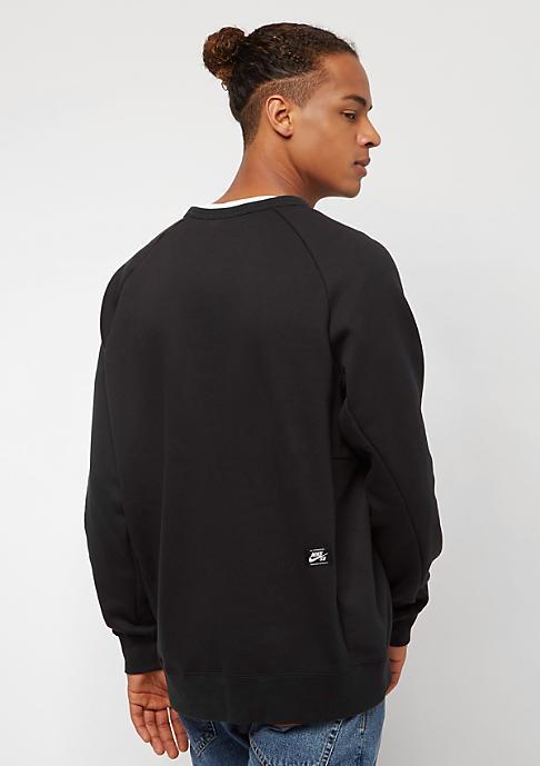NIKE SB Sweatshirt Icon Fleece black/white