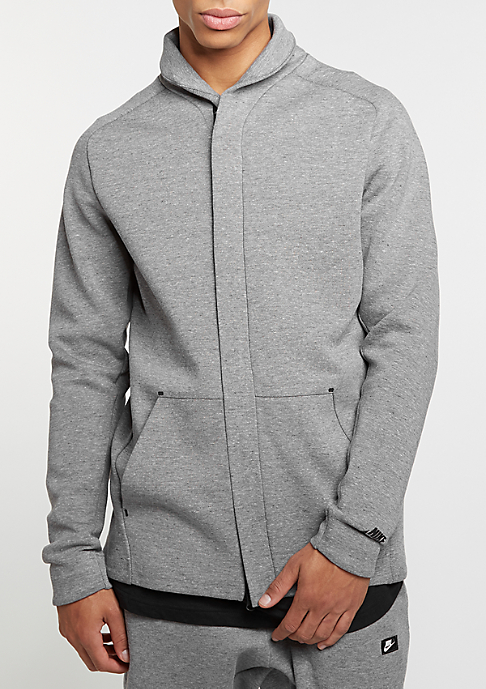 NIKE Übergangsjacke Sportswear Tech Fleece carbon heather/black