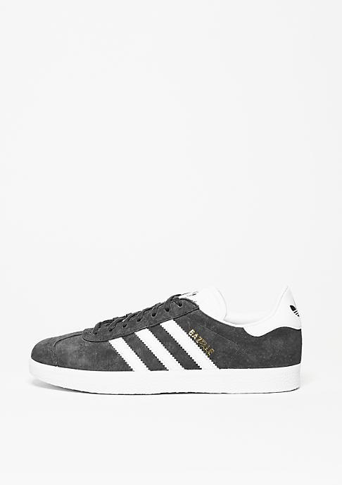 adidas Gazelle solid grey/white/gold metal