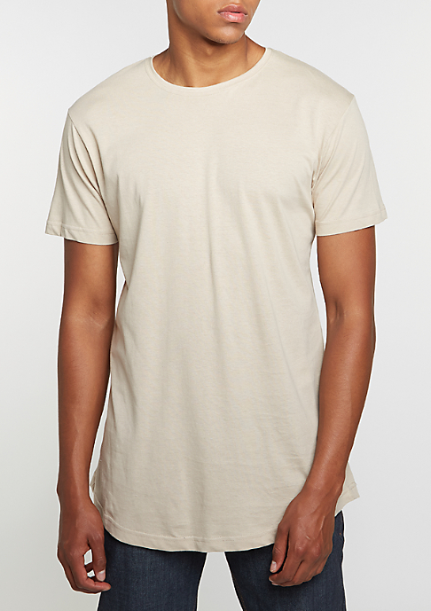 Urban Classics T-Shirt Shaped Long sand