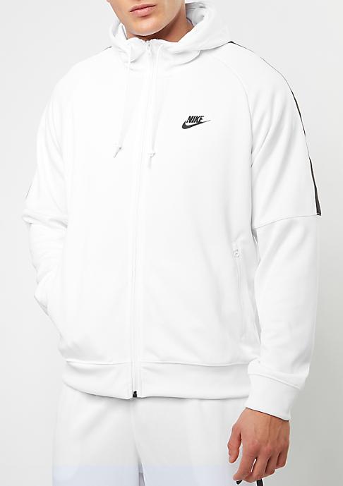 NIKE Hooded-Zipper Tribute white/black