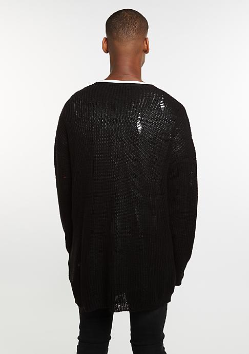 Future Past Sweatshirt Knit Crew black