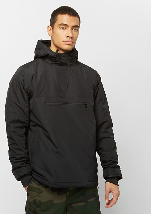 Urban Classics Padded Pull Over black