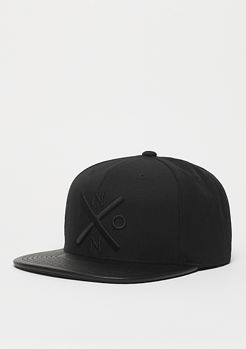Nixon Snapback-Cap Exchange all black/black