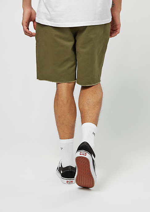 Brixton Chino-Shorts Madrid olive