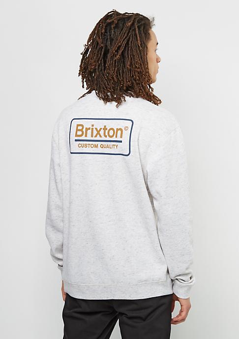 Brixton Sweatshirt Palmer Fleece heather stone