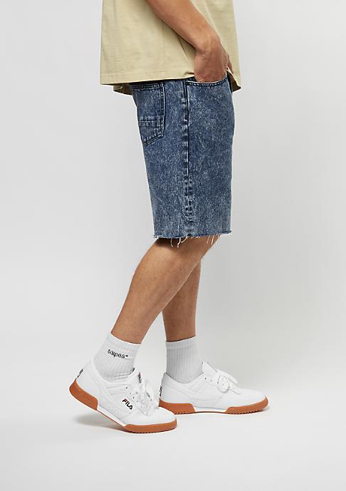 Cayler & Sons Jeans-Shorts Raw Edge Denim blue