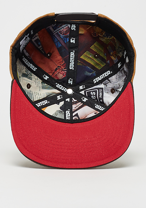 Dickies Snapback-Cap Jamestown brown duck