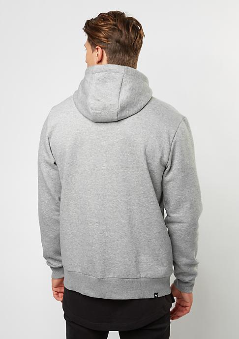 Puma Hooded-Sweatshirt ESS No. 1 medium grey heather/velvet