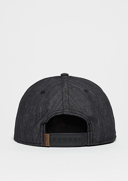Djinn's Snapback-Cap 6P Linen black