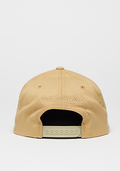 Mitchell & Ness Baseball-Cap Tonal Logo High Crown 110 khaki
