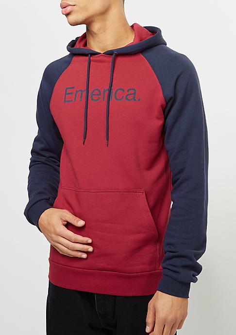 Emerica Hooded-Sweatshirt Purity oxblood