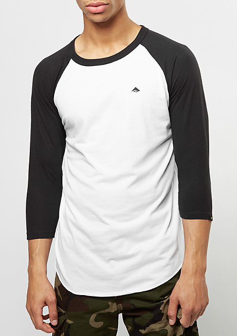 Emerica Longsleeve Triangle Raglan black/white