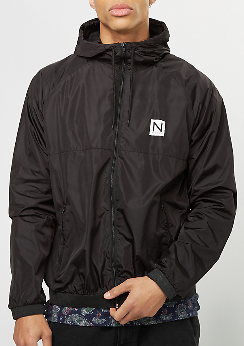 New Black Übergangsjacke Windbreaker black
