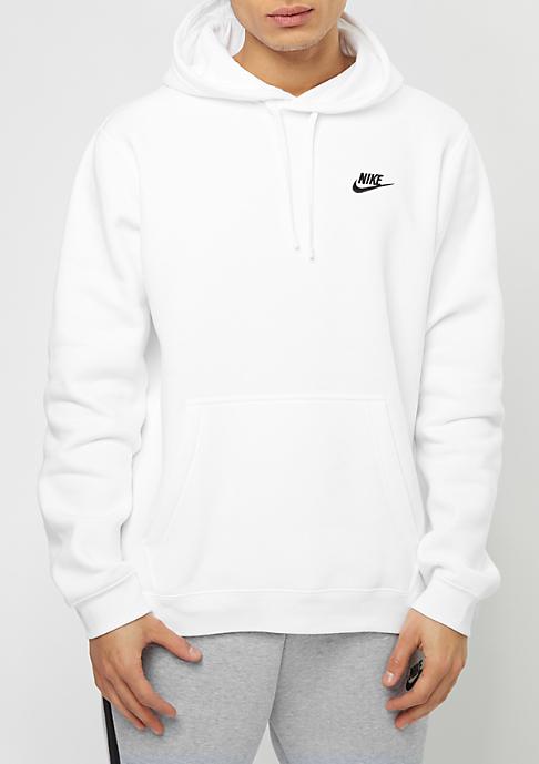 NIKE Hooded-Sweatshirt Sportswear white/white/black