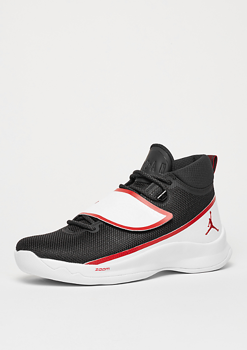 Jordan Schuh Super.Fly 5 black/gym red/white