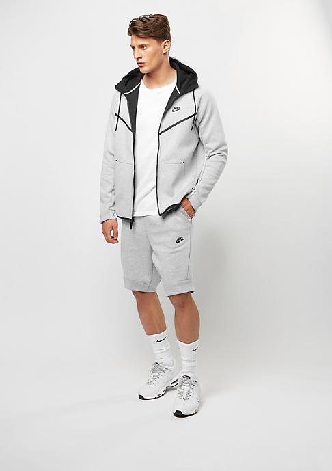 NIKE Sport-Short Tech Fleece white/heather/black