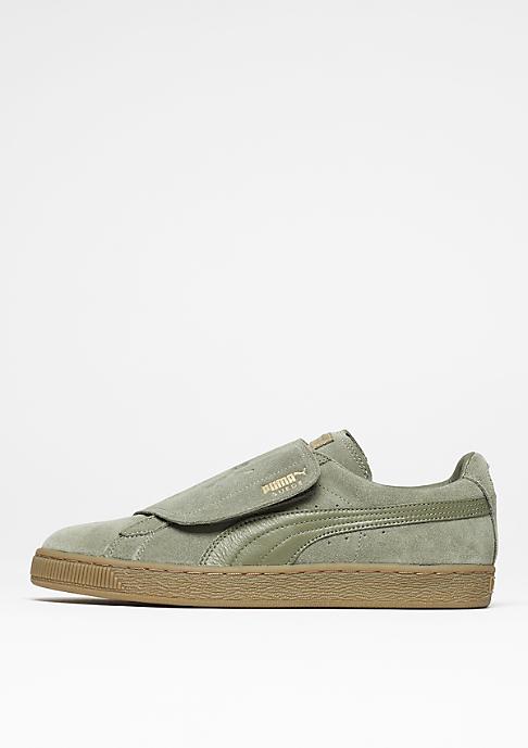 Puma Schuh Suede Strap Gum green