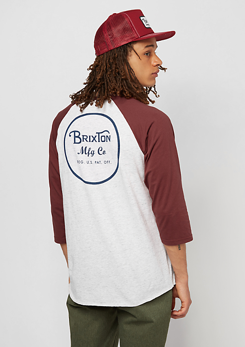 Brixton Wheeler 3/4 heather stone/brick