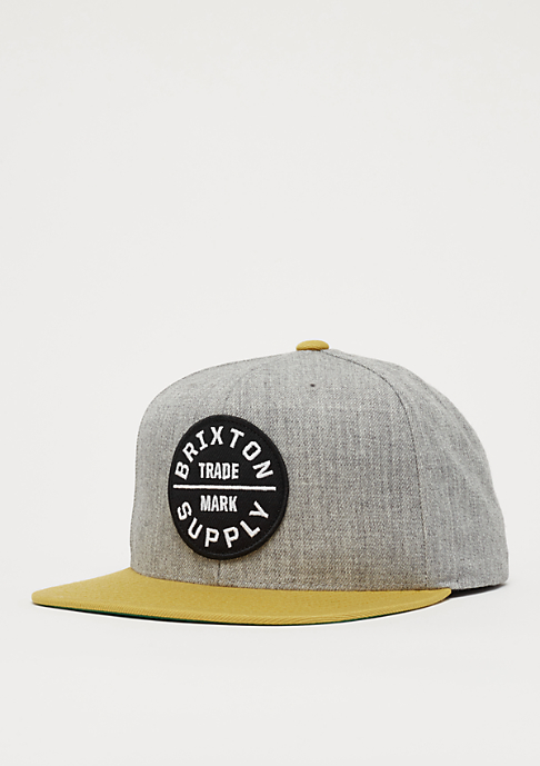 Brixton Oath III heather grey/gold