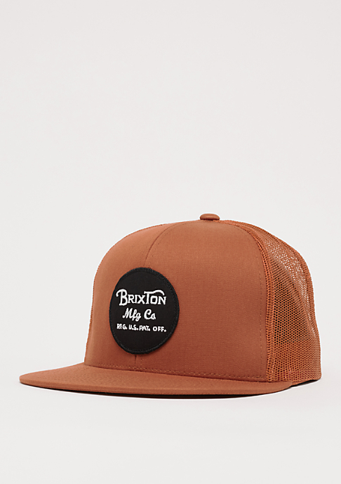 Brixton Wheeler Mesh burnt orange