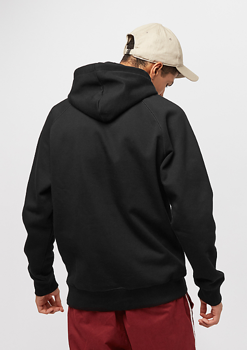 Carhartt WIP Hooded-Sweatshirt Chase black/gold