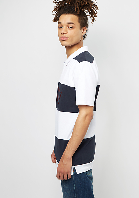 Karl Kani Polo white/blue