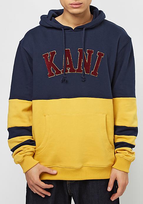 Karl Kani College blue/yolk yellow