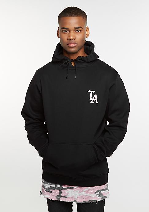 Mister Tee Hooded-Sweatshirt LA black