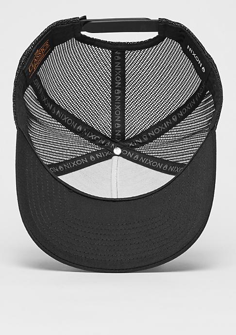 Nixon Trucker-Cap Iconed black/white