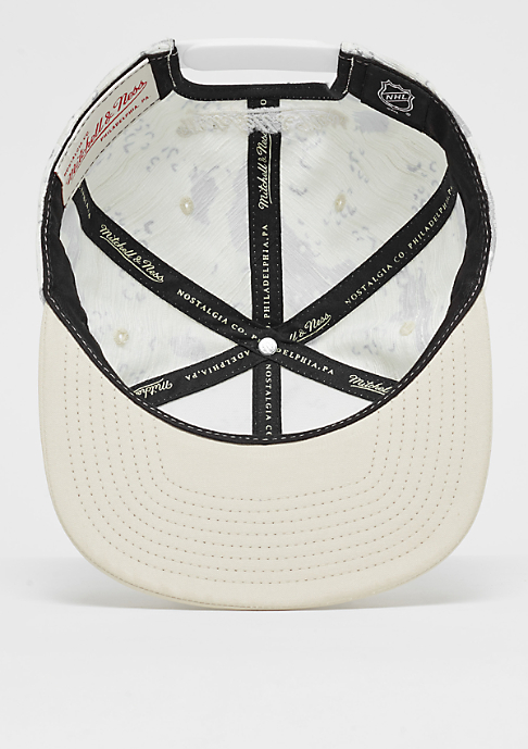 Mitchell & Ness Space Camo NHL Anaheim Ducks white/cream