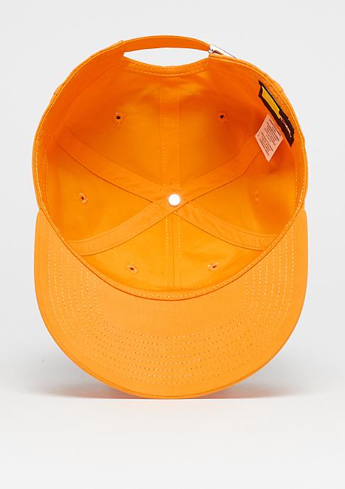 NIKE Metal Swoosh Logo circuit orange/metallic silver
