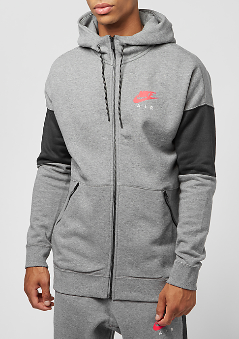 NIKE FZ Air carbon heather/anthracite/siren red