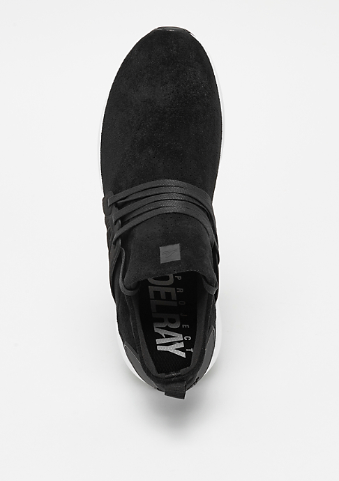 Project Delray WAVEY deep black/white