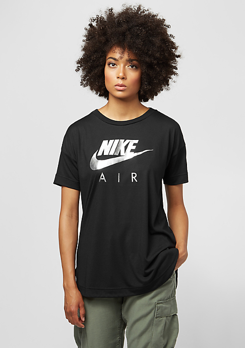 NIKE Top Air black/black