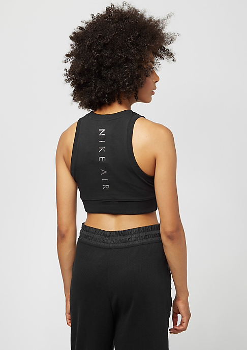 NIKE Crop Air black/black