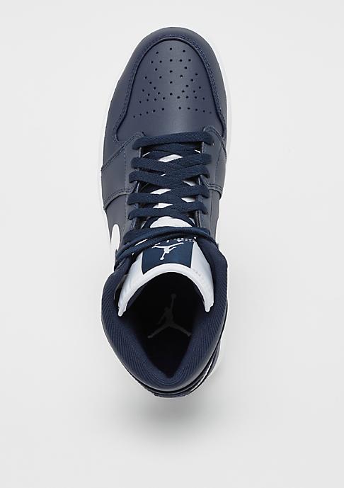 JORDAN Air Jordan 1 Mid obsidian/white/white